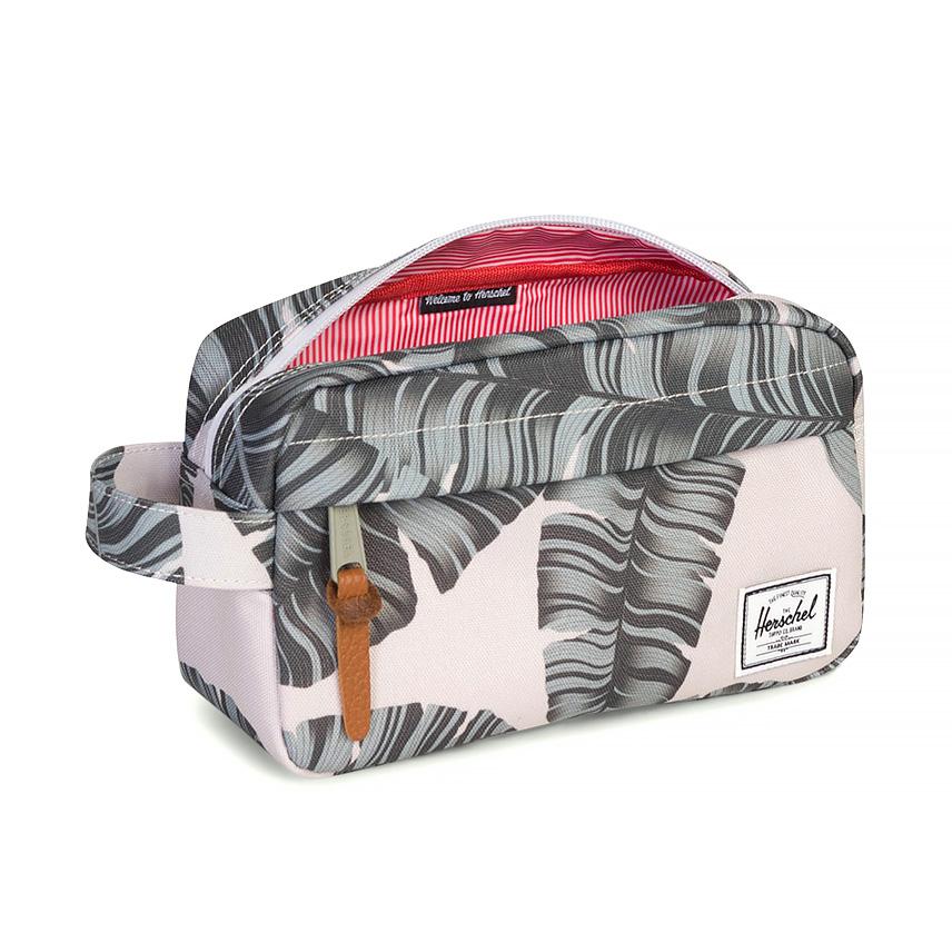 Herschel Chapter Travel Kit | Carry-On - Silver Birch Palm - ด้านใน