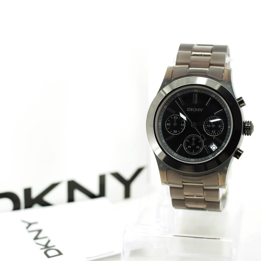 DKNY Women's Resin Chronograph Watch