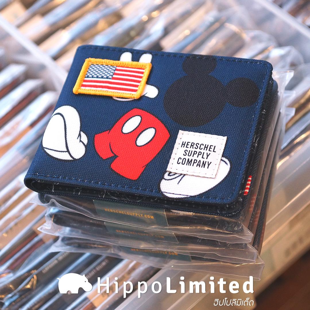 กระเป๋าสตางค์ Herschel Roy Wallet | Disney - Navy