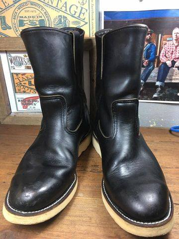115. Vintage RED WING 8169 made in USA size 8.E