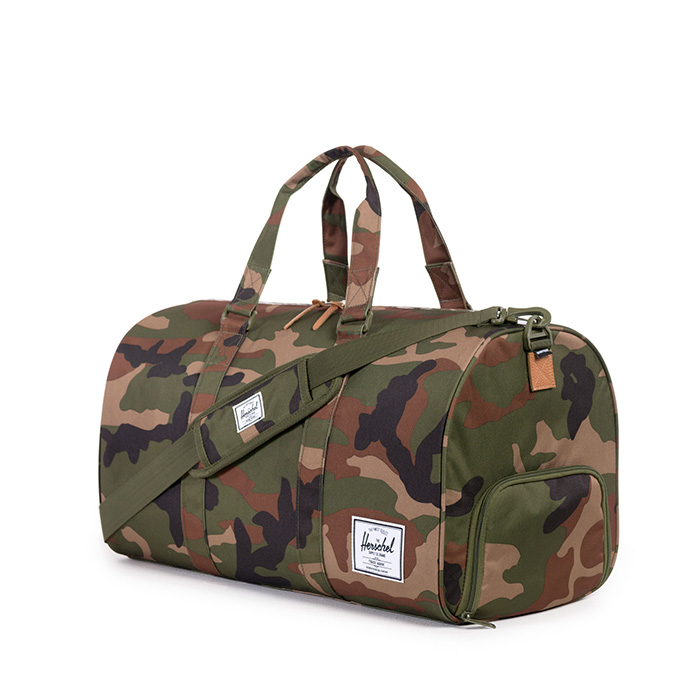 Herschel Novel Duffle - Woodland Camo
