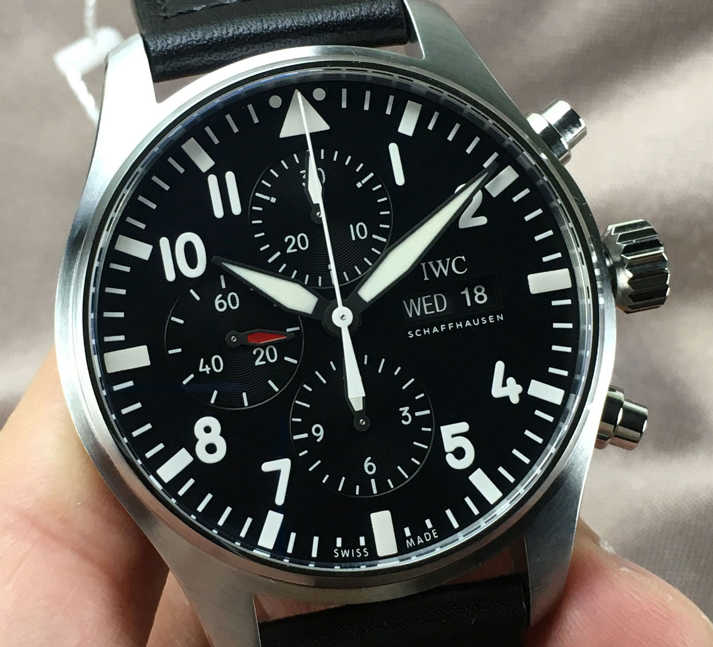 IW377709 IWC PILOT'S WATCH CHRONOGRAPH