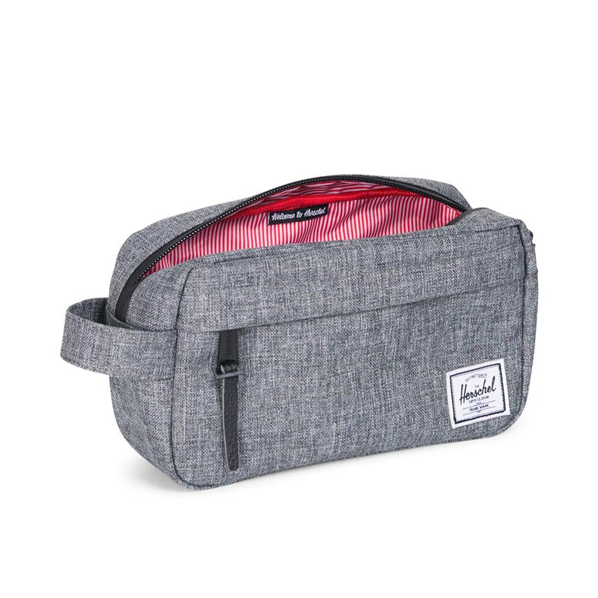 Herschel Chapter Travel Kit   Carry-On - Raven Crosshatch - ด้านใน