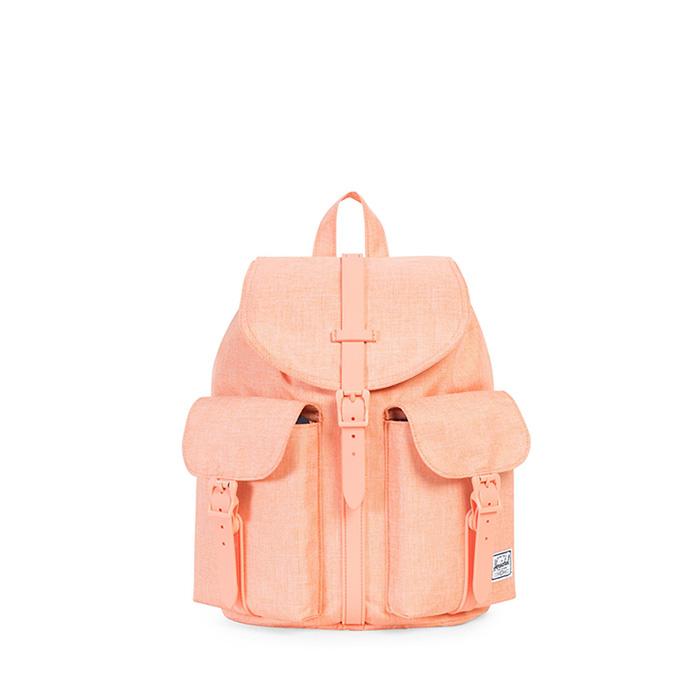 Herschel Dawson Backpack | Womens - Nectarine Crosshatch Rubber