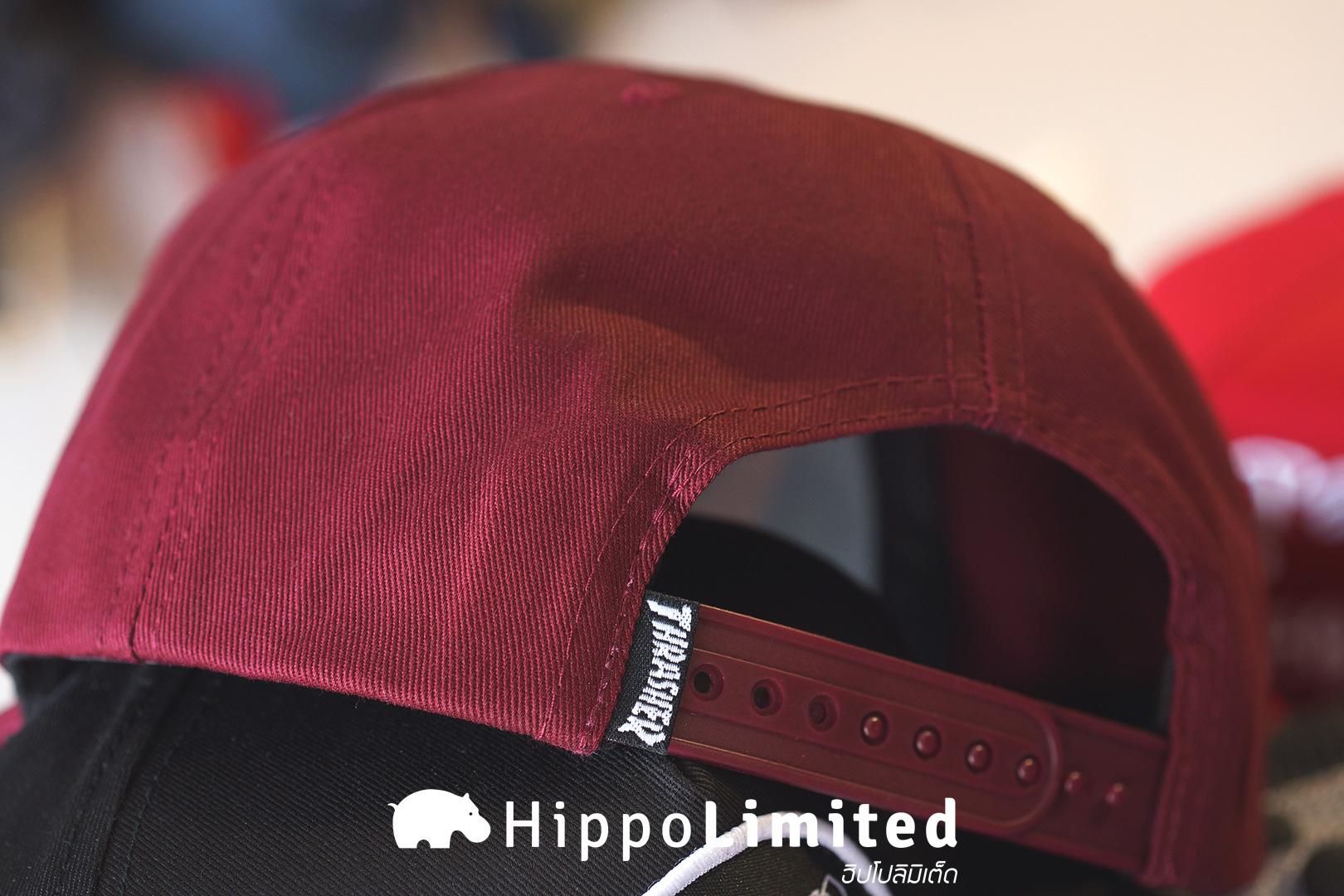 หมวก Thrasher Skategoat Snapback - Maroon