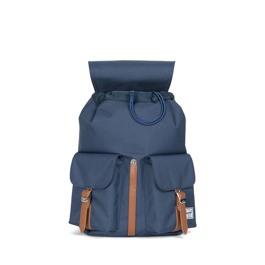 Herschel Dawson Backpack | XS - Navy / Tan - ด้านใน