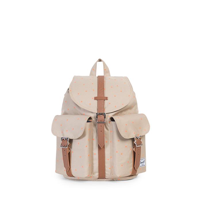 Herschel Dawson Backpack | Womens - Khaki / Nectarine Scatter