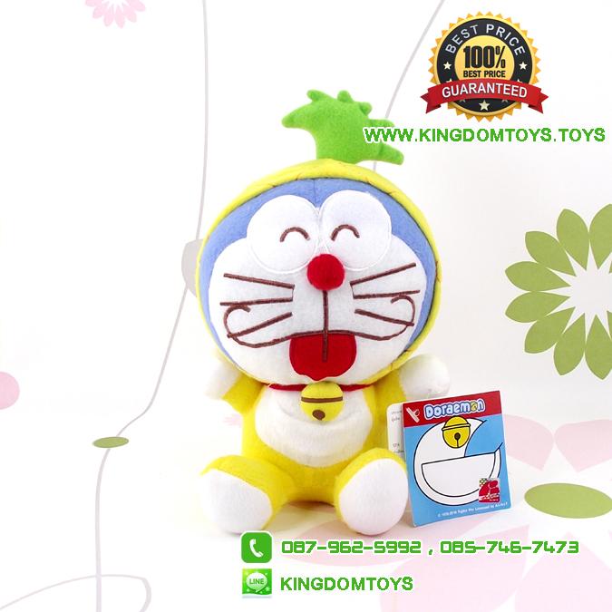 ตุ๊กตา โดเรม่อน ชุดสับปะรด 7 นิ้ว [Fujiko Pro]