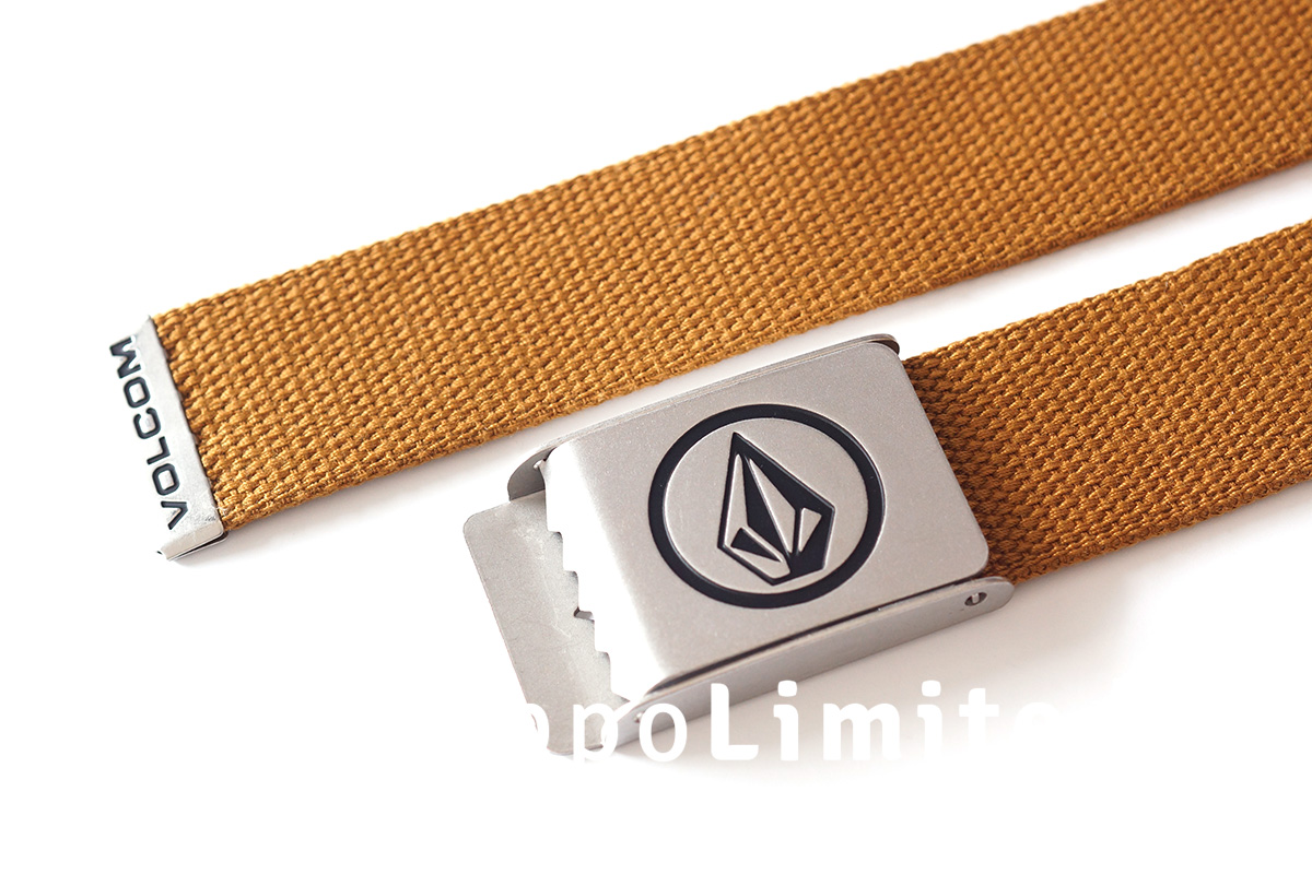 Volcom Circle Web Belt - Rust