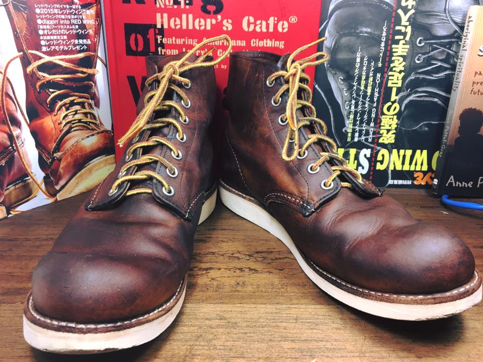 30.RED WING 9111 size 9D