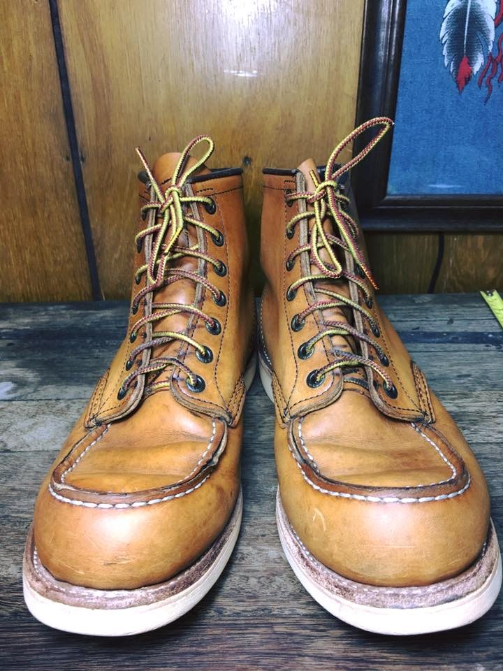 RED WING 875 made in USA size 9.5E
