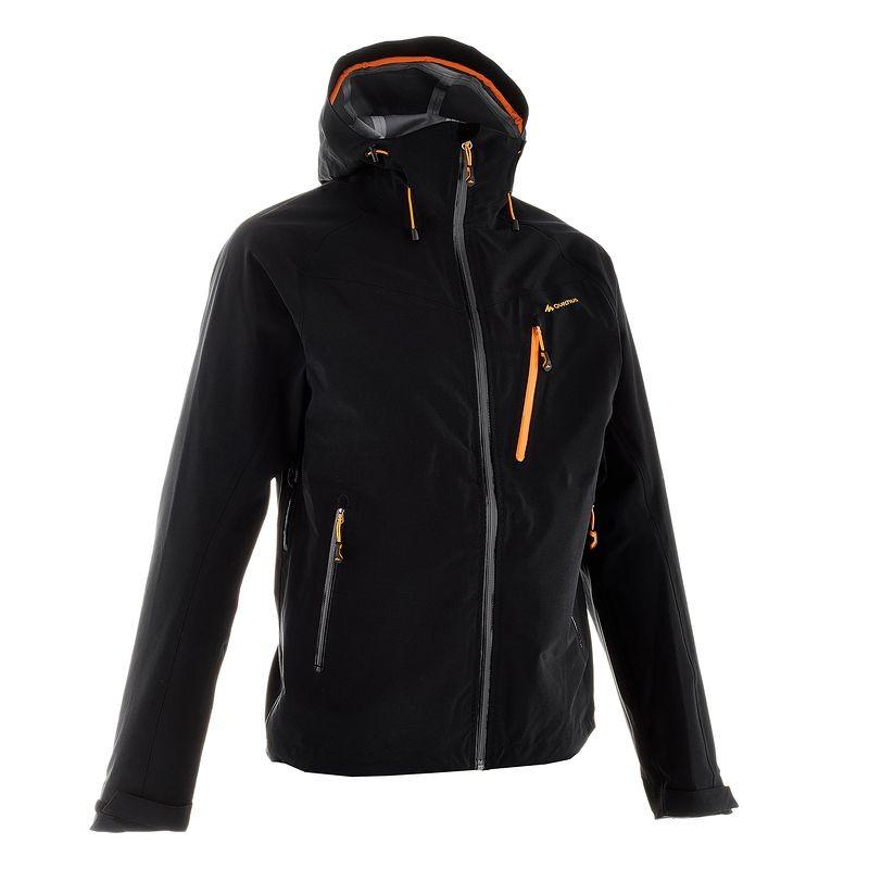 Quechua Men'S Extra Waterproof Jacket for hiking - BLACK