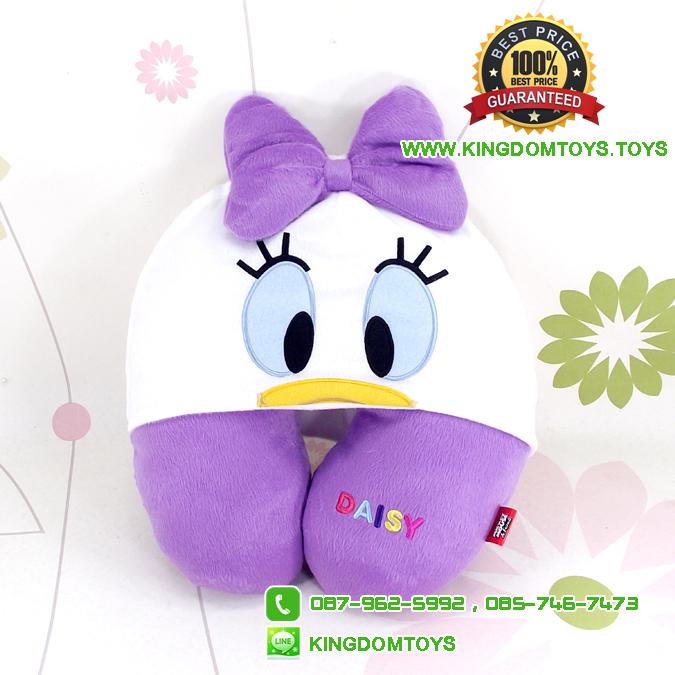 หมอนรองคอเป็ด Daisy Duck No.391 [ขาว] [Disney]