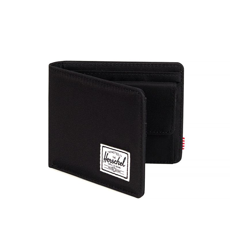 Herschel Roy Wallet | Coin - Black Nylon