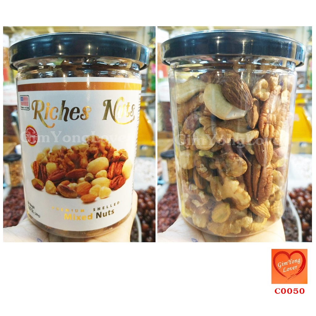 Riches Nuts ถั่วรวม (Riches Nuts Mixed Nuts)