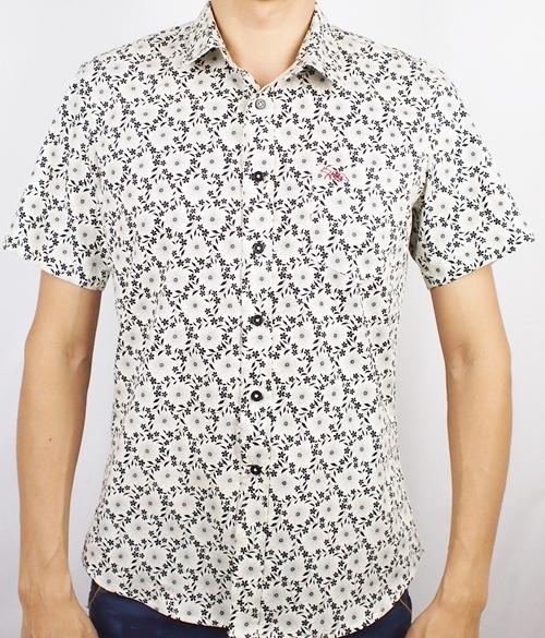 เสื้อเชิ้ตแขนสั้น ชาย NANAPA Shirts S-010