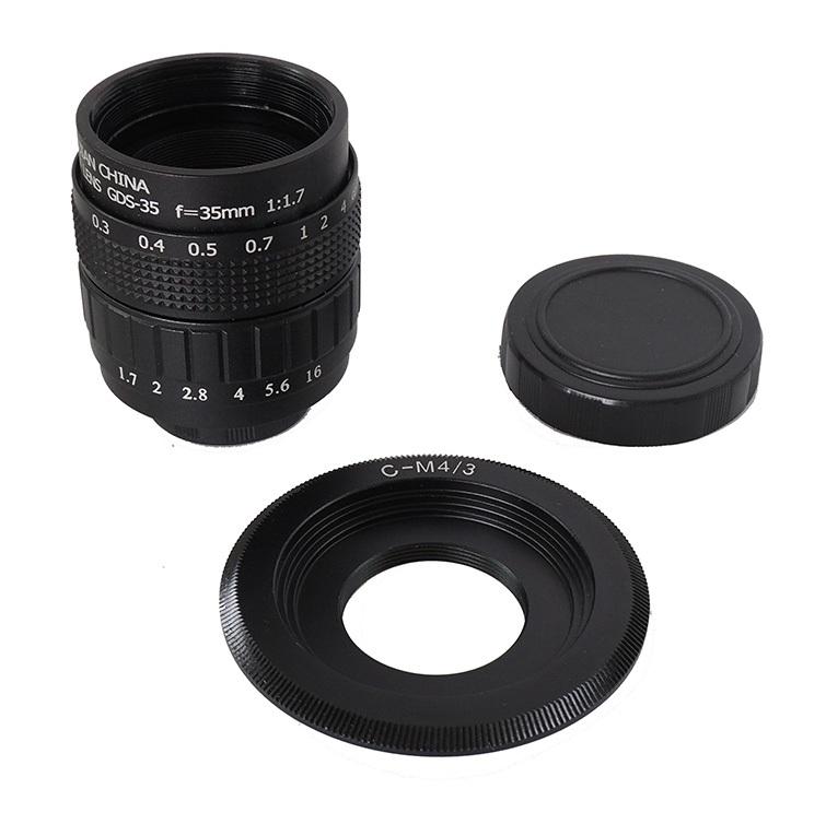 (เซ็ท) เลนส์มือหมุน Fujian CCTV 35mm F1.7