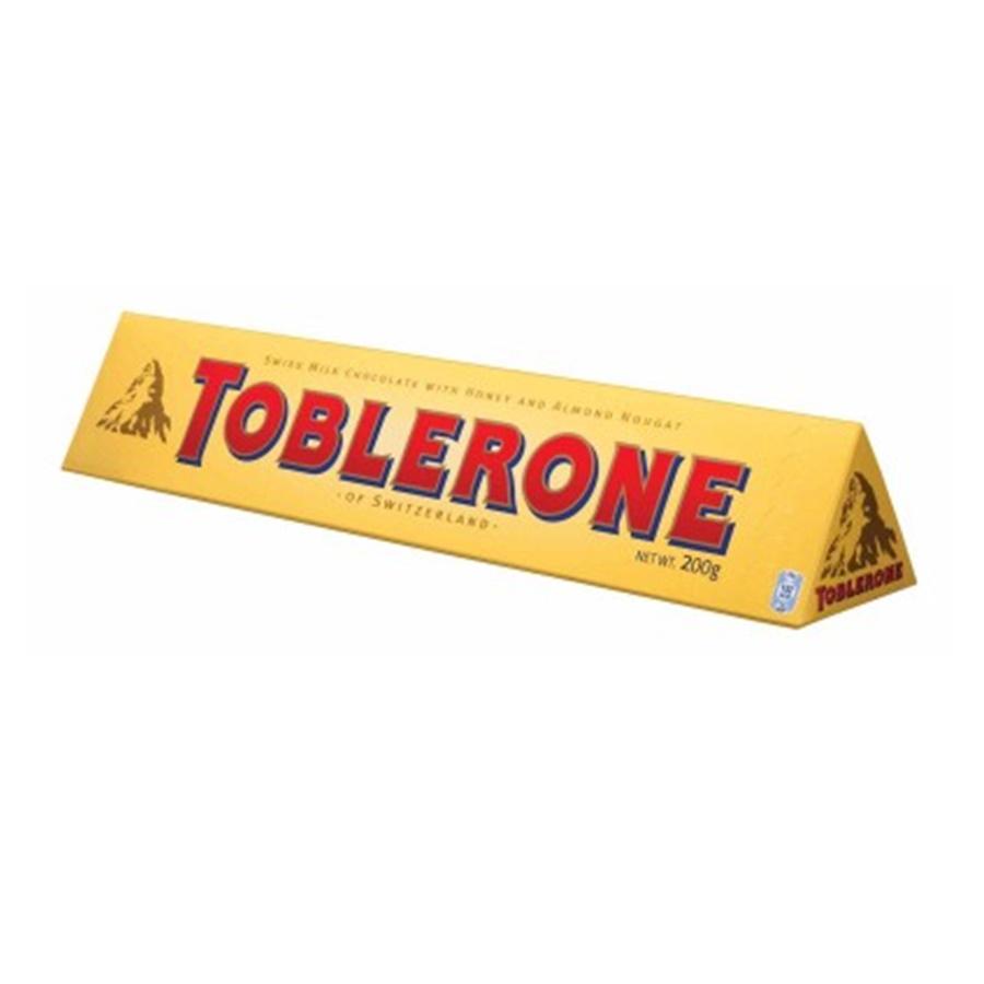ทอปเบอโรน ช็อกโกแลตนม (TOBLERONE Milk Chocolate)