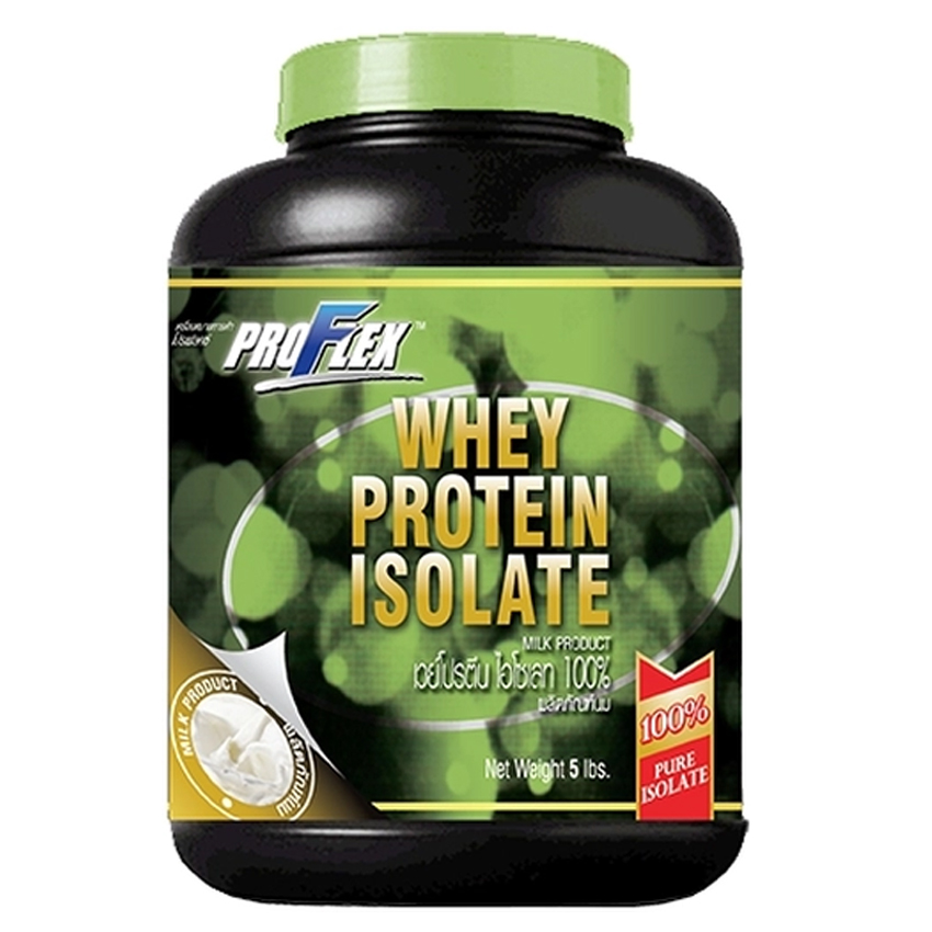 Product details of ProFlex Whey Protein Isolate Pure (5 lbs.) ProFlex Whey Protein Isolate Pure (5 lbs.)