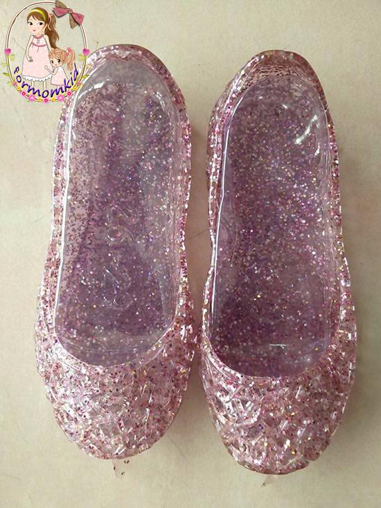 รองเท้ารังนกสีชมพูมีกลิตเตอร์วิ๊งๆ ใส่สวย สบาย เบา ไม่กัดเท้าแน่นอนค่ะ