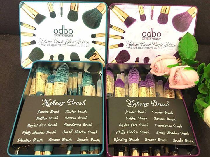 ODBO Make up Brush Edition ชุดแปรงแต่งหน้า 15 ชิ้น