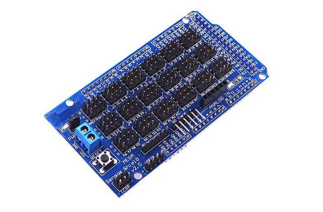 Shield ขยายพอร์ตสำหรับ Arduino Mega2560