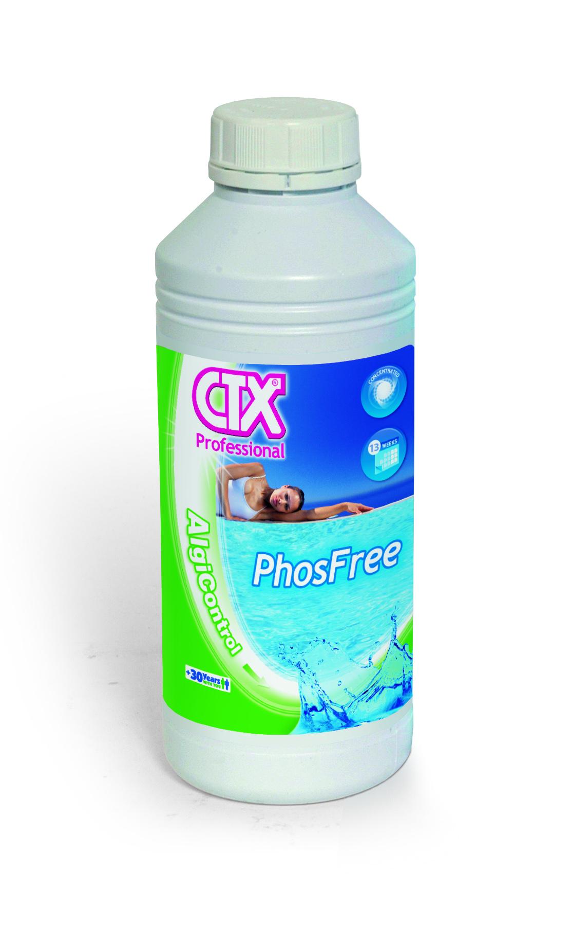 CTX-Phosfree น้ำยากำจัดอาหารของตะไคร่ ยับยั้งตะไคร่ไม่ให้เจริญเติบโต 1 ลิตร
