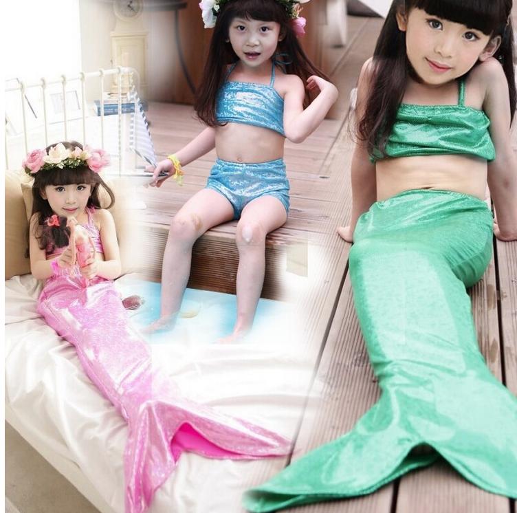 ชุดว่ายน้ำนางเงือกสีชมพู (3ชิ้น) เสื้อ,กางกางขาสั้น,กระโปรงหางนางเงือก ใส่แล้วน่ารักสุดๆค่ะ