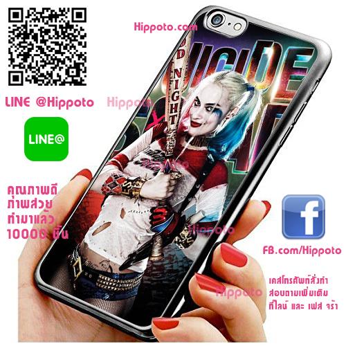 เคส ไอโฟน 6 / เคส ไอโฟน 6s Harley Quinn ไม่เบสบอล เคสเท่ เคสสวย เคสโทรศัพท์ #1391