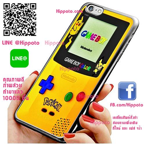 เคส ไอโฟน 6 / เคส ไอโฟน 6s เกมบอยปิกาจู เคสสวย เคสโทรศัพท์ #1311