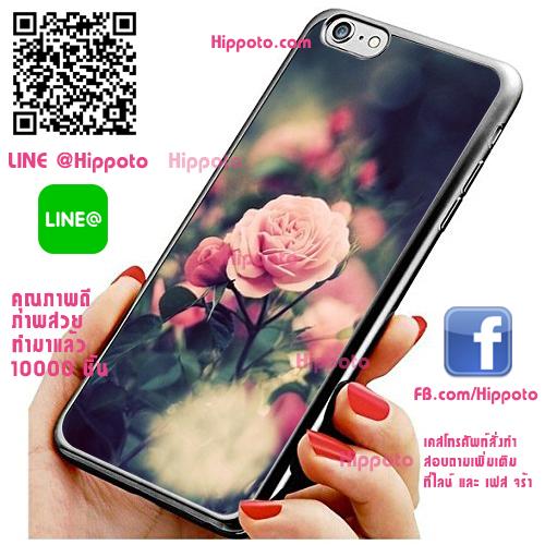 เคส ไอโฟน 6 / เคส ไอโฟน 6s ดอกกุหลาบในสวน เคสสวย เคสโทรศัพท์ #1213