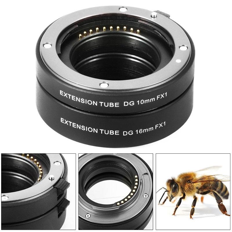 Fujifilm ท่อมาโคร Auto Focus Macro Extension Tube for Fuji X Series Camera