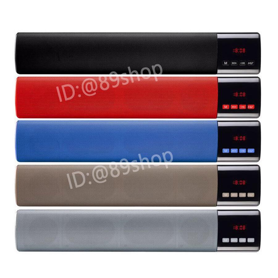 ลำโพงบลูทูธ B28S LCD เสียงสเตอริโอ Mini Sound Bar Bluetooth Speaker