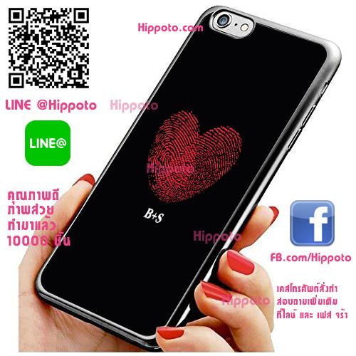 เคส ไอโฟน 6 / เคส ไอโฟน 6s หัวใจลายมือ เคสสวย เคสโทรศัพท์ #1180