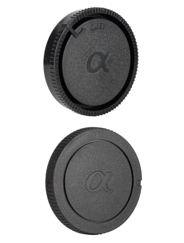 Sony A-Mount Rear Lens Cap ฝาปิดท้ายเลนส์ + Body Cap ฝาปิดบอดี้