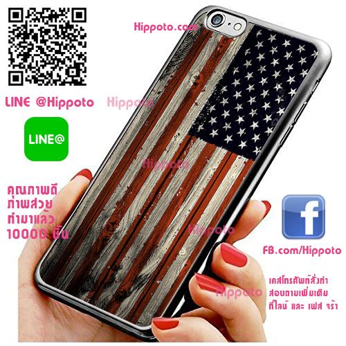 เคส ไอโฟน 6 / เคส ไอโฟน 6s ธงอเมริกา วินเทจ เคสสวย เคสโทรศัพท์ #1178