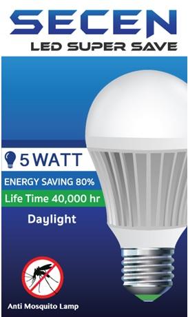 หลอดไฟไล่ยุง LED Daylight