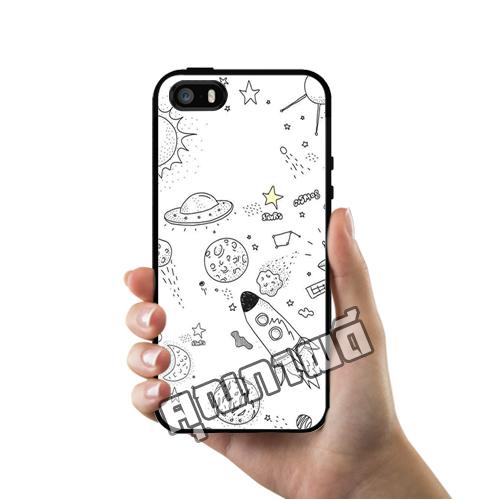 เคส iPhone 5 5s SE กาแล็คซี่ ลายเส้น เคสสวย เคสโทรศัพท์ #1369