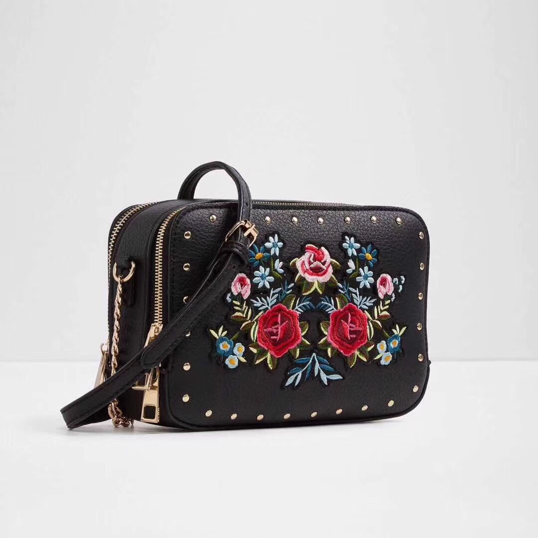 Aldo Embroidery Crossbody Bag 2017