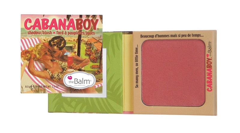 The Balm Shadow / Blush 8.5g #CabanaBoy