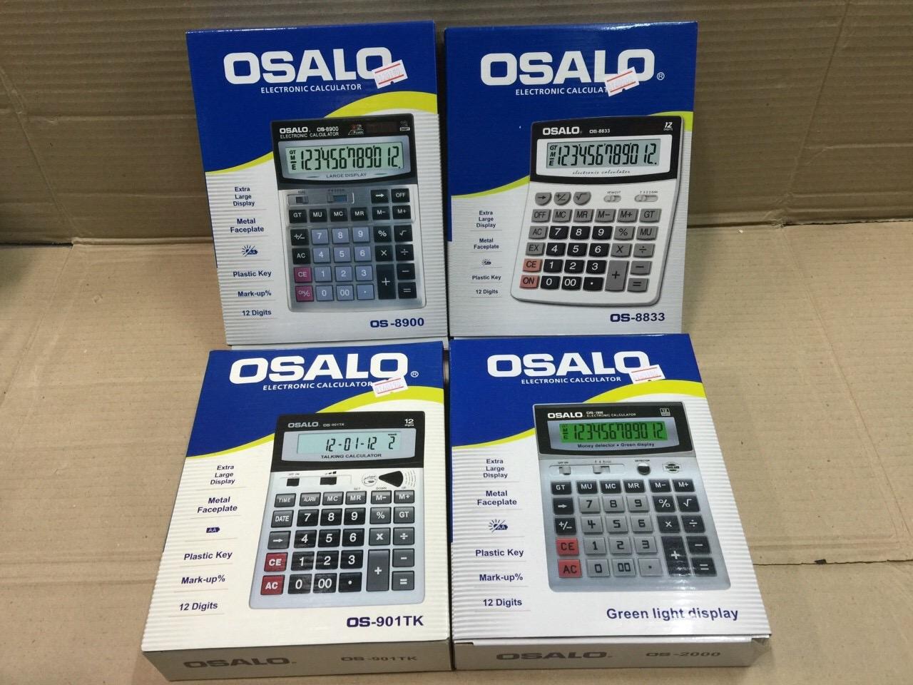 เครื่องคิดเลขจีน osalo รุ่น OS-901TK