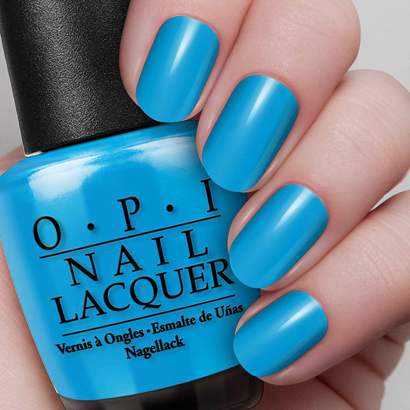 O.P.I Nail Lacquer #No Room for the Blues