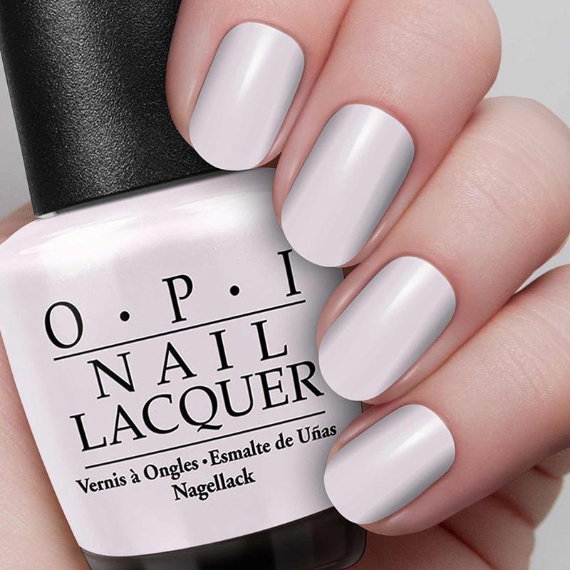 O.P.I Nail Lacquer #Chiffon My Mind