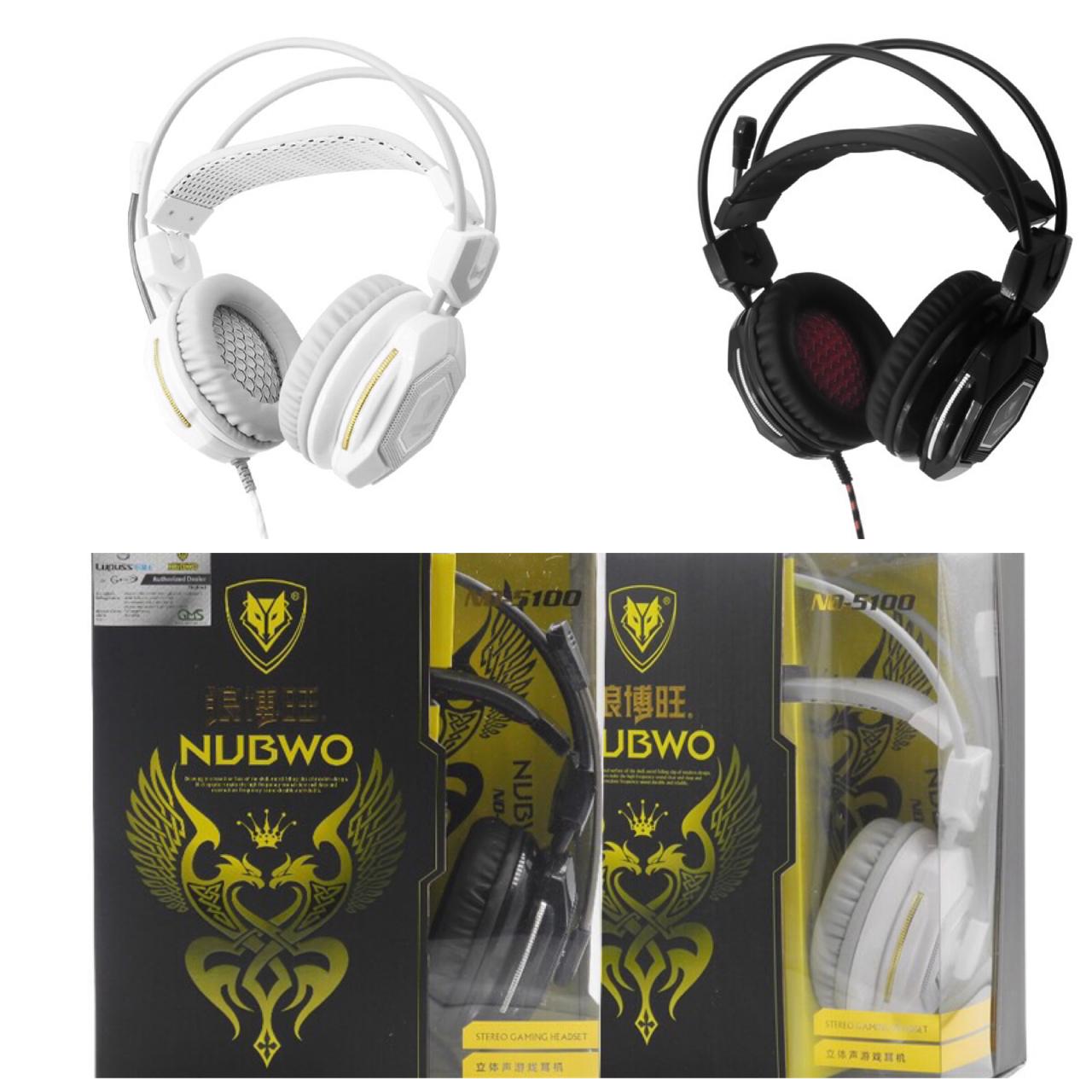 หูฟังครอบหู คอมพิวเตอร์ NUBWO NO-5100