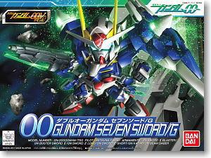 368 00 Gundam Seven Sword/G (SD) (Gundam Model Kits)