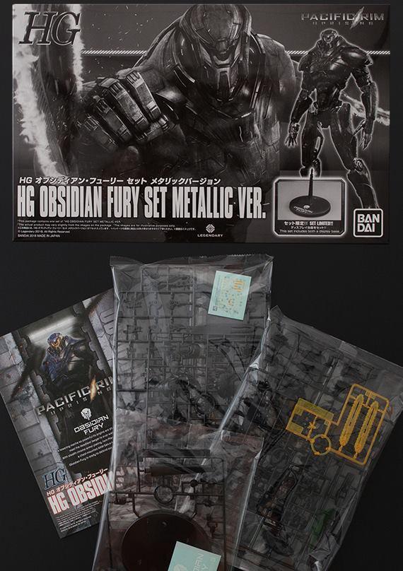 เปิดรับPreorder มีค่ามัดจำ 300 บาท Pacific Rim Uprising Obsidian Fury Metallic Color Version