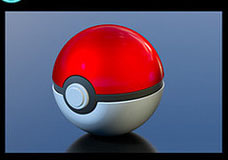 189472 POKEMON POKE BALL สีแดง