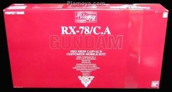 Limited PG 1/60 RX-78/C.A CASVAL S GUNDAM EXF VER.