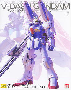 64270 MG V-Dash Gundam Ver.Ka 5800yen
