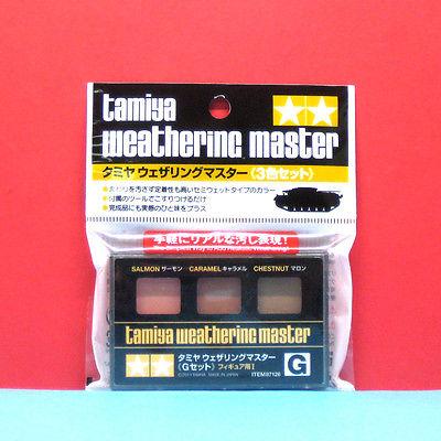 (เหลือ 1 ชิ้น รอเมล์ฉบับที่2 ยืนยัน ก่อนโอน) Weathering Master G Set (G salmon / caramel / chestnut)